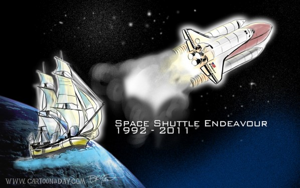 shuttle-endeavour-cartoon