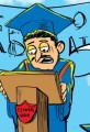 High School Graduation 2011 Cartoon