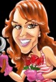 Bachelorette Caricature- Ashley Hebert Cartoon