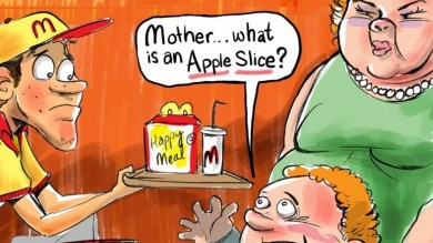Fast Food Obesity Arguments