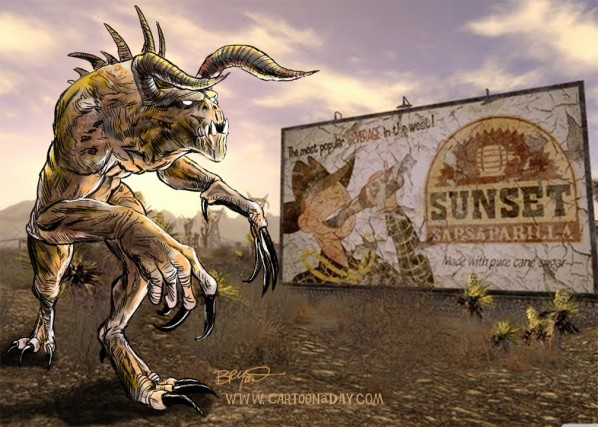 deathclaw-cartoon-wallpaper