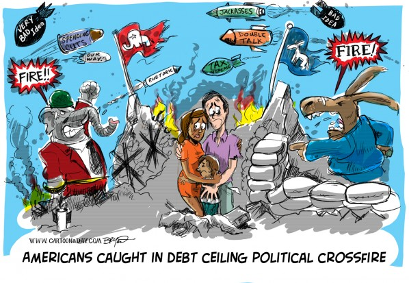 Debt Ceiling Talks Stall US Citizens Suffer