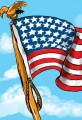 Happy Independence Day 2011 - Nation Shaped Flag