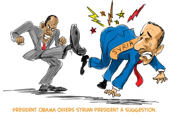 assad-booted-from-syria-cartoon