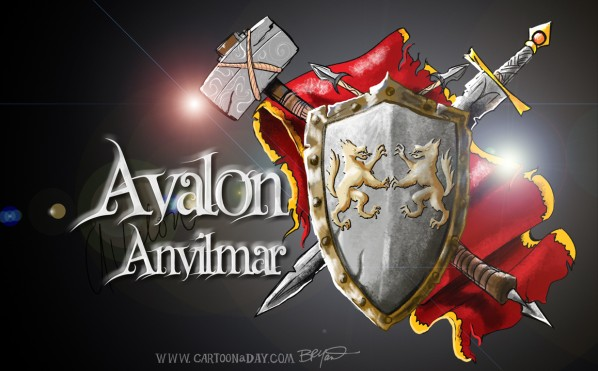 Avalon Anvilmar Guild Logo