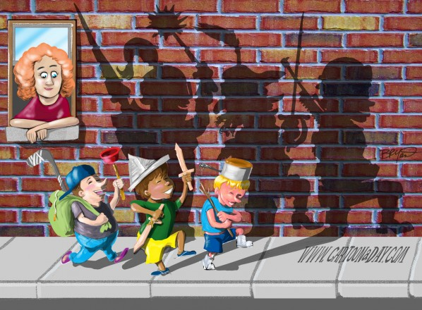 Kid Imagination   Shadows Tell the Truth Cartoon
