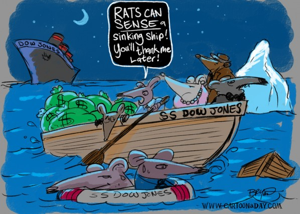 rats-sinking-dow-jones