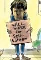 Will Work for Food- Unemployment Cartoon