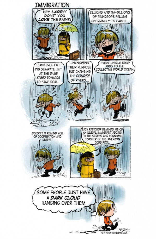 immigration-cartoon-rainy-day-bluescolor