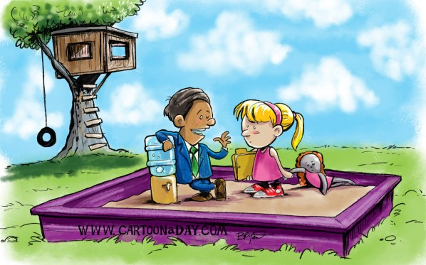 Sandbox Kids Sunday Cartoon