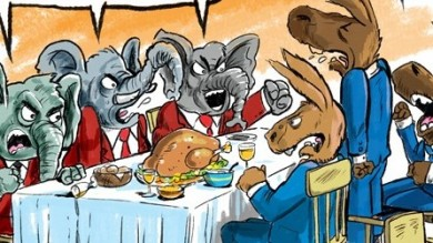 Image result for thanksgiving political cartoons
