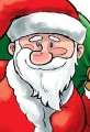 Free Christmas Santa Claus Cartoon