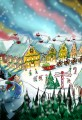 North Pole Cartoon- Santa's Workshop