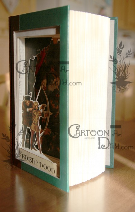 3d-book-sculpture-robin-hood