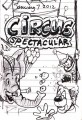 Circus Cartoon Sketch Diary