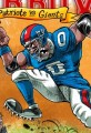 Cartoon Patriots Vs Giants-Superbowl 46
