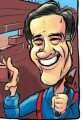 Cartoon Mitt Romney Facebook Page