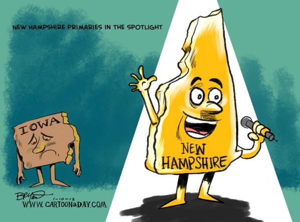 new-hampshire-primary-race-cartoon