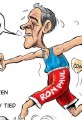 Cartoon Ron Paul Drops Farther Out of Race