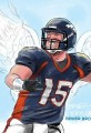 Tim Tebow Cartoon 3:16- Tebow Angelic Stats