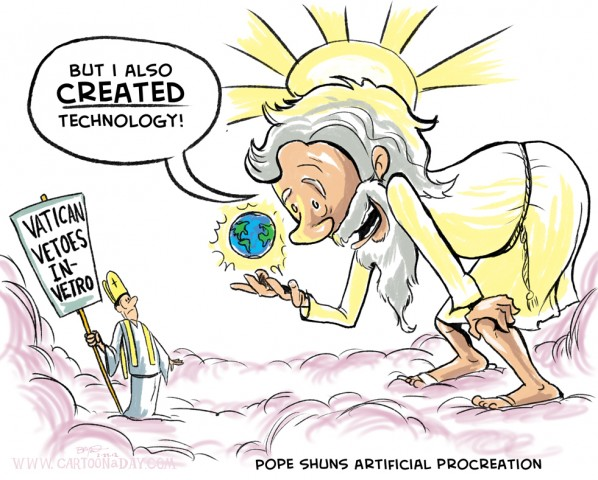 god-pope-technology-cartoon