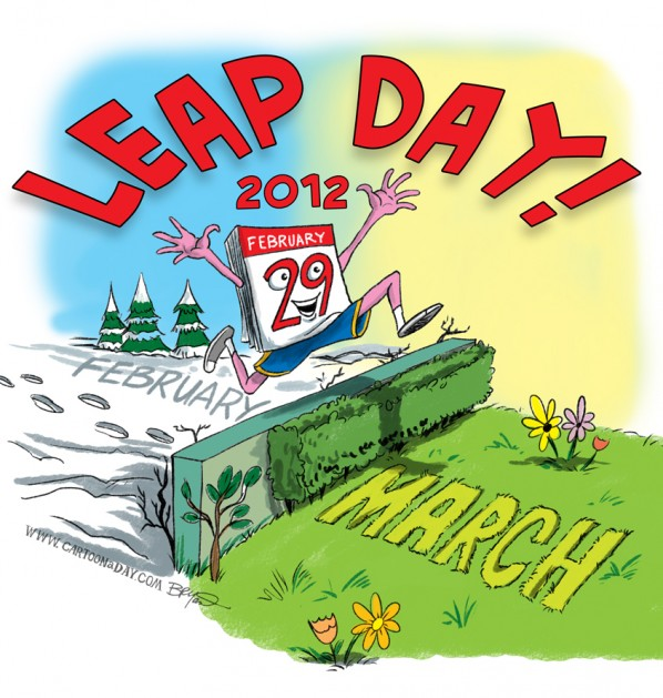 Leap Day Leap Year 2012
