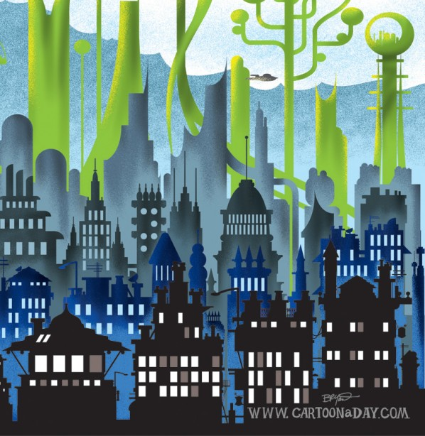 Futurism City of Tomorrow