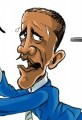 Obama and Rising Gas Prices Cartoon