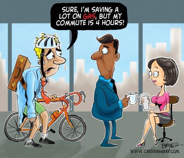 Free High Gas Prices Office Cartoon