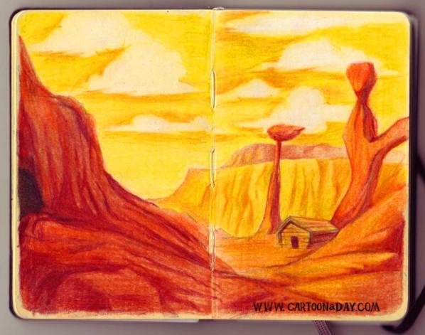sketchbook-landscape-redrock