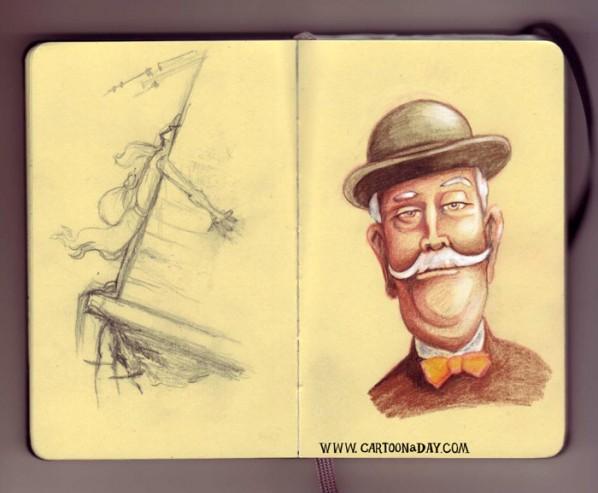 bryant-sketchbook-bowler-hat