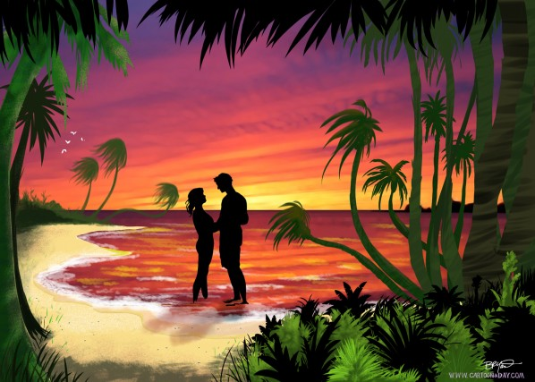 cartoon-paradise-sunset-lagoon