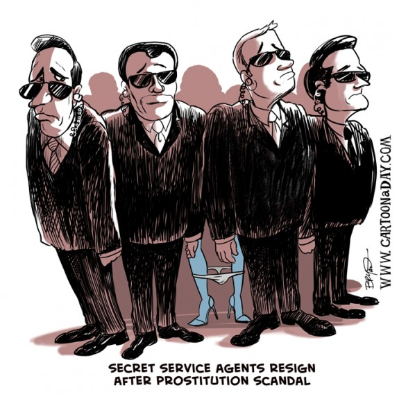Secret Service Agents Resign Under Scandal