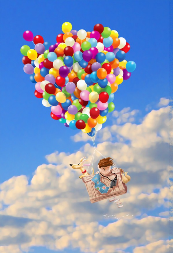 Balloon Boy and Dog Adventure