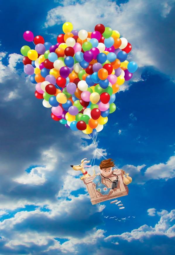 Balloon Boy and Dog Adventure