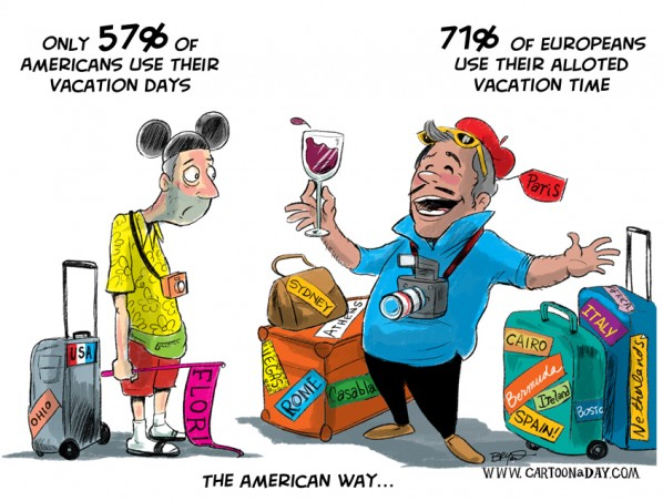 Americans Dont Take Vacation