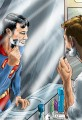 Superman In The Mirror Portrait
