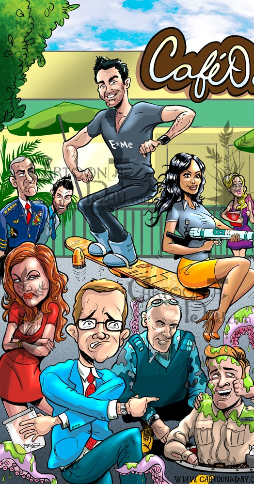 eureka-syfy-cast-cartoon-left