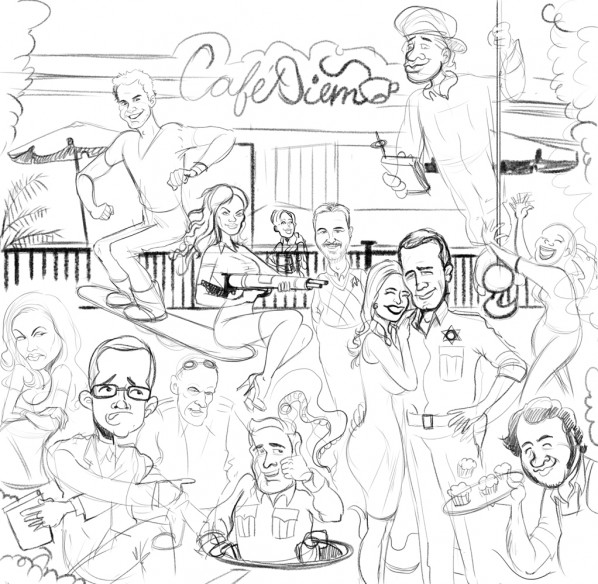 eureka-syfy-cast-cartoon-sketch
