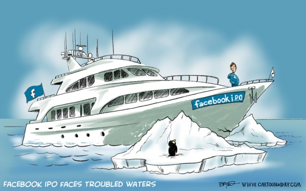 Facebook IPO Faces Troubled Waters