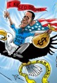 Obamas Presidential Campaign Political Cartoon