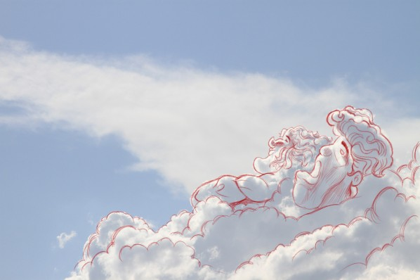 Imagination and Clouds in the Sky