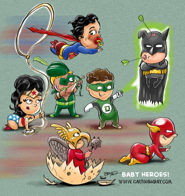 cartoon-baby-superheroes