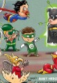 Cartoon Baby Super Heroes
