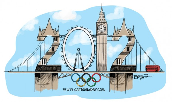 2012 Olympics Logo London England