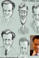Mitt Romney Caricature Cartoon Study