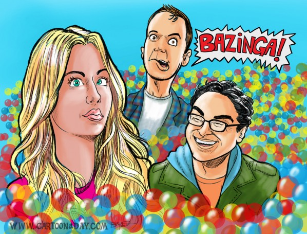 Big Bang Theory Cartoon New Season