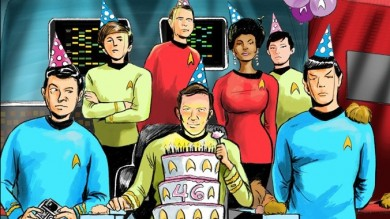 some small paster of Star trek by riyancyy777 on DeviantArt |Drawing Cute Cartoon Star Trek Kirk