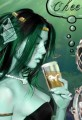 Underwater Mermaid in A Bar Cheers Cartoon