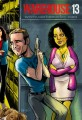 Warehouse 13 Cartoon Cast 2012